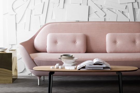 Modern living rooms and pastel colours