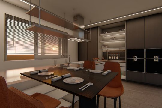 Render cucina Milano Good Design